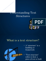 understanding text structures  3  ppt