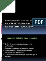 4 La Creatividad Aplicada a La Gestión Educativa