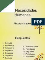 necesidades humanas