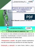 Métodos de Avaliação de Impactos Ambientais e Aplicações