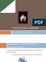 PSICOPATOLOGÍA FORENSE