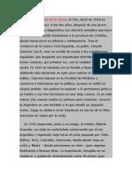 Biografia Del Che