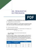 Nota Tecnica III (Precision)