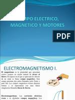 Campo Electrico Magnetico y Motores