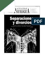 Actualidad Psicologica 436 Separaciones y Divorcios