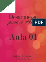 Desarme Se Para o Amor Ariana Schlösser1