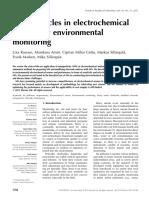 Nanopartículas en Electroquímico