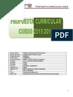 4PropuestaCurricularPrimaria