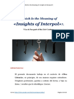 Meaning of 'Insights of Interpol' - México