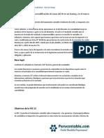 Practico Incidencia Futura de La Modificación de Tasas Del IR en Un Leasing en El Marco de La NIC 121