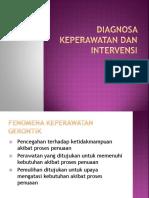 Diagnosa Keperawatan Dan Intervensi
