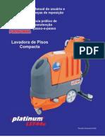 Equipamento de limpeza Lavadora compacta de pisos LST44