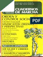 CuadernoMarcha 09 Texto de Barran Nacimiento de La Democracia