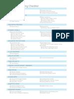 A Xu Retraining Checklist