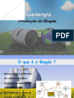 Produção de Biogas