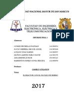 Informe Final 1 Maquinas Electricas