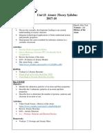atomic theory basic unit plan 2017-2018