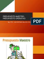 Presupuesto Maestro Operativo