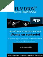 Servicio de Drones Promocional