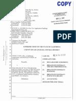 Donald Fagen v. The Estate of Walter Becker