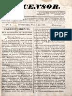 El Censor 5 de Julio 1836