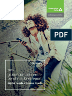 2016 Global Contact Centre Benchmarking Report Summary