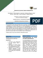 INTERCAMBIADOR DE CALOR DE TUBOS CONCENTRICOS  INFORME.docx