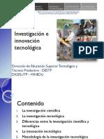 PONENCIA DE INNOVACION E INVESTIGACION TECNOLOGICA.pptx