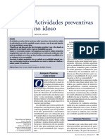 Actividades preventivas no idoso