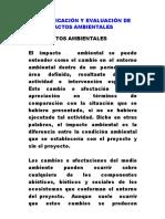 Identificacion y Evaluacion de Impactos Ambientales Capitulo 6