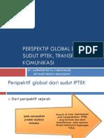 Perspektif Global Di Lihat Dari Sudut IPTEK,