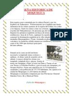 Reseña Historica de Moquegua