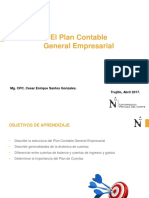 El Plan Contable General Empresarial