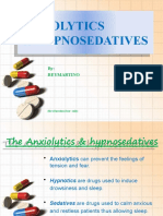 Anxiolytics & Hypnosedatives