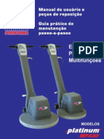 Equipamento de limpeza  enceradeira profissional MF430 510