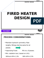 Fired Heater Design