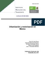 urbanización y motorizació en méxico.pdf