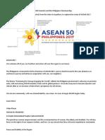Asean 2017 Logo