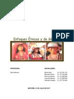 Etnias en Venezuela