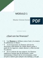 MODULO_1 Las Finanzas