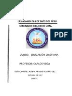 Trabajo Monografico Educacion Cristiana