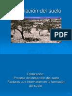 Formacion Del Suelo