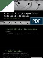 Unidad 3 Potencial Electrico