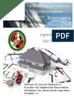 Universidad Autonoma Tomas Frias. Matrices