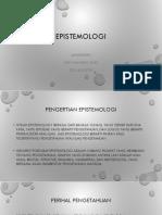 EPISTEMOLOGI (2)