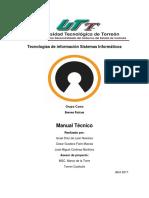 Ejemplo de Manual Tecnico C