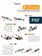 Core Strengthening Workout