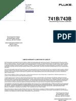 Calibrador Fluke 743b