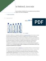 Plásticos Sin Bisfenol