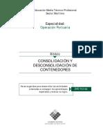 Consolidación y Desconsolidación de Contenedores